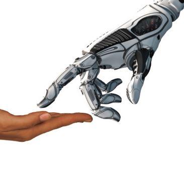 Humanlike robotic hand