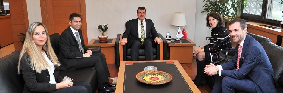 The Netherlands Ambassador to Turkey visited TUBITAK