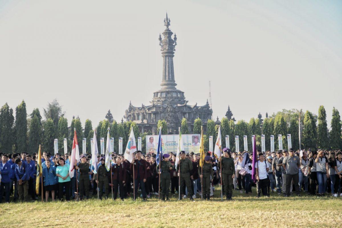 50,000 Bali Students Attend The Launching of 2019 Hakteknas