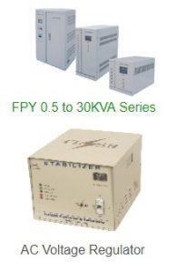 power stabilizer and voltage regulator